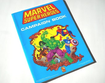 CLEARANCE Marvel Super Heroes Campaign Book: TSR