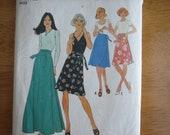 Vintage Simplicity Pattern 7352 Misses' Set of Wrap Skirts 1976
