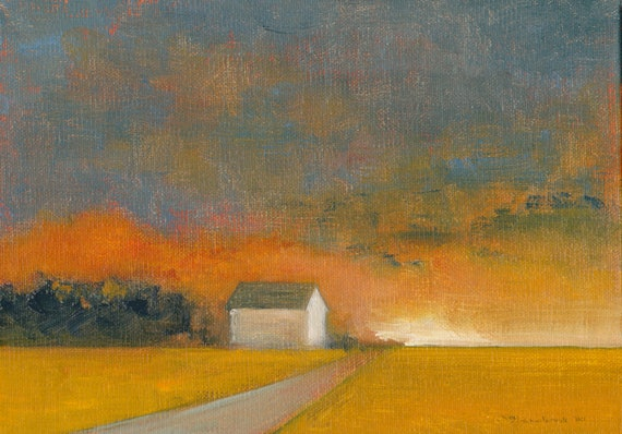 Fall-Ash - Original Oil Painting and Landscape Painting by Seminary Road Artists