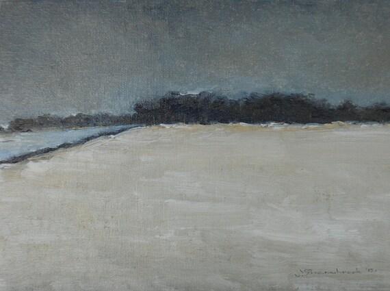 Winter Is - Original Oil Painting