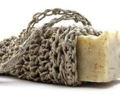 Natural Hemp Soap Saver Pouch, Eco-friendly Soap Bag, Valentine's Day, Anniversary Gift, Husband Gift, Unisex Gift, Men's Gift, For Him Guy
