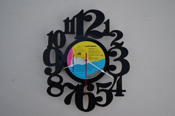 Vinyl Record Album Wall Clock (artist is Genesis)