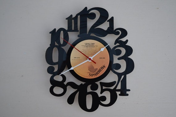 Vinyl Record Album Wall Clock (artist is Phil Driscoll)