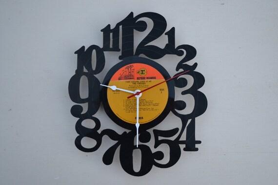 Vinyl Record Album Wall Clock (artist is The Vogues)