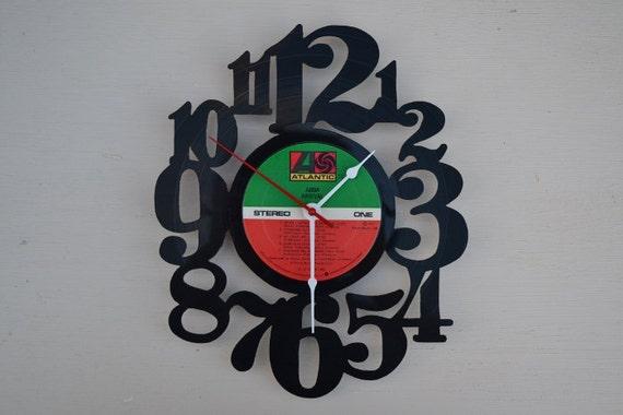 Vinyl Record Album Wall Clock (artist is ABBA)