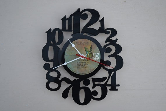 Vinyl Record Album Wall Clock (artist is Carly Simon)
