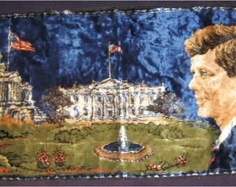 JFK Vintage Wall Tapestry