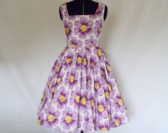 Saywell's Drugs Custom Made Swing Dress