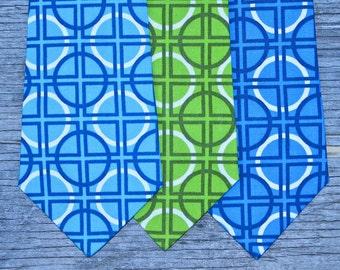 Boys Blue Tie -- Boys Green Tie -- Baby Boy Shower Gift