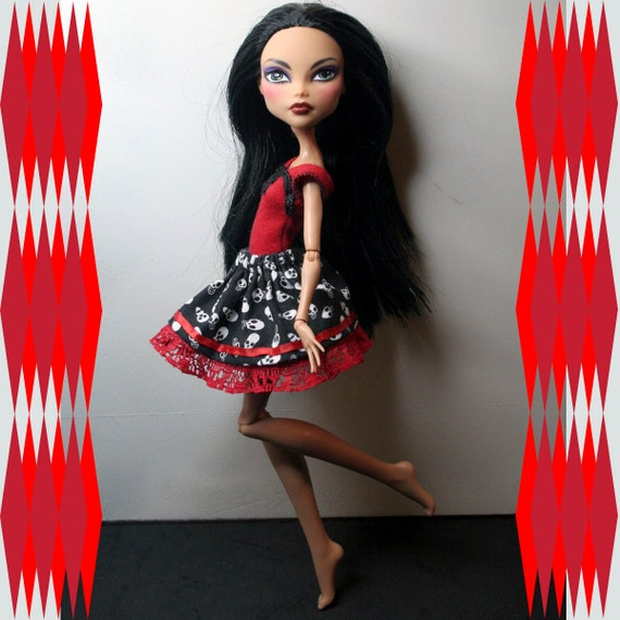 2 Piece Outfit for Monster High Dolls