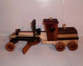 Wooden construction grade grader handcrafted