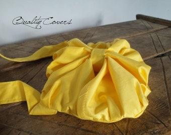 Fleur-de-Lis Purse with non-removable strap - Customizable for Color Fabric - Belt bag- Waist purse- Handbag- Shoulder bag- interior Pockets