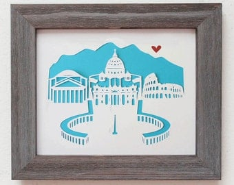 Rome, Italy   - Personalized Gift or Wedding Gift