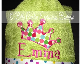 Crown Hooded Towel (other colors available for towel)