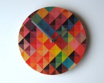 Objectify Grid 2 Wall Clock