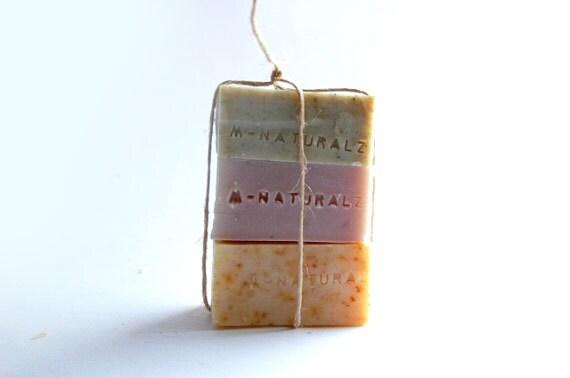 Wa half three bars trial soap