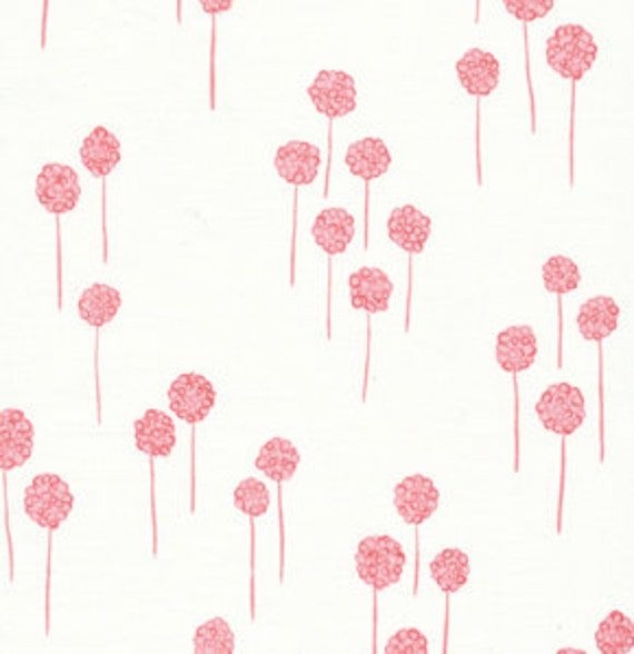 Custom for Amy - 76000  Free Spirit Valori Wells Nest Berries in Rose color - 2 yards