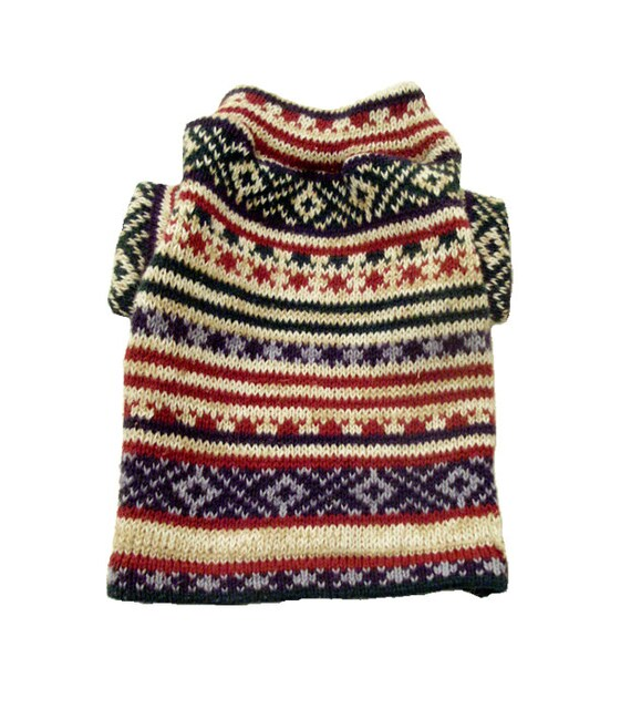 XSmall Winter Dog Sweater