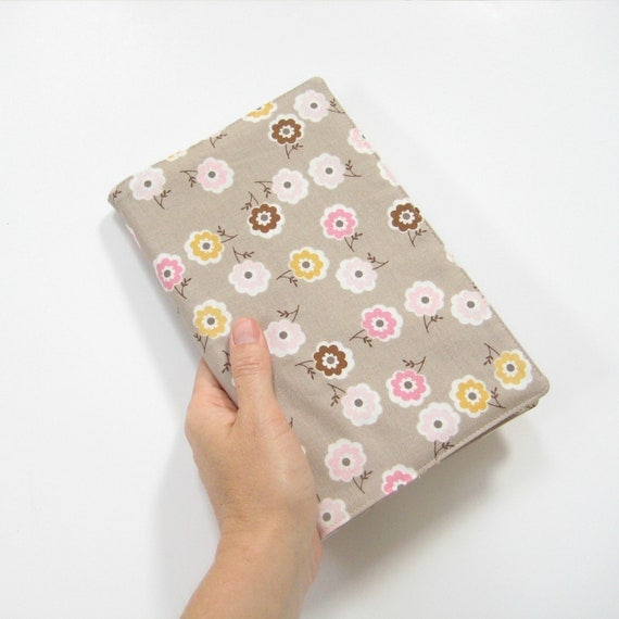 Pretty taupe Moleskine cover, fits 21 x 13cm large Moleskine planner or journal, 2nd Anniversary Gift Under 50