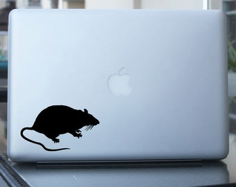 Rat Decal - Mouse Vinyl Sticker - For Car, Window, Laptop,