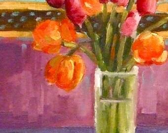 Tulip Painting • Oil Paintings • Daily Paintings • Original Art • Oil Painting • Daily Painter • Daily Painting • Tulips