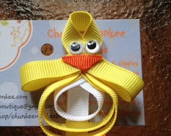 Cute little Ducky hair clippie