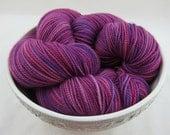 SALE: Candyland, Pink Hand dyed Sock Yarn, Merino Nylon, 400 yds