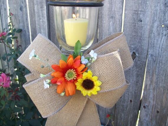 Items Similar To Sunflower Wedding, Sunflower Pew Bows
