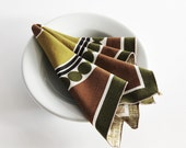 Retro Napkins by Scuda - Set of Six - Mid Century Modern