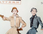 1950s Bolero Suit Pattern Butterick 6488 Bust 30