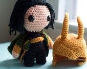 Loki (Avengers) Amigurumi Plush Doll PATTERN