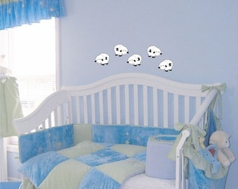 Counting Sheep wall decal removable sticker