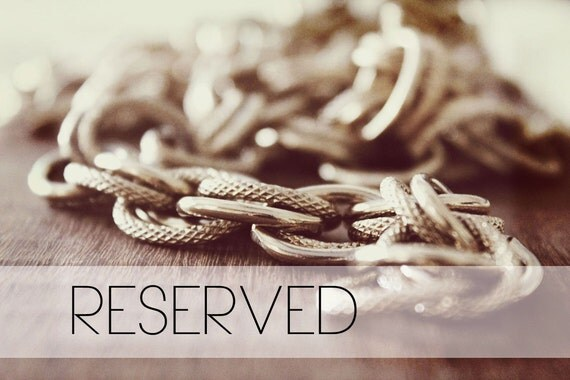 RESERVED LISTING FOR MissDaphne06