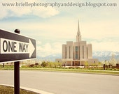 One Way Temple - Fine Art Print - Digital File