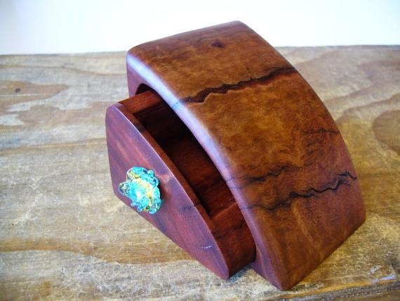 australian timber bandsaw box glass drawer knob handmade