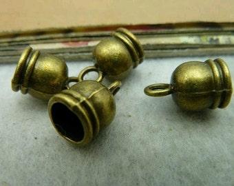 20pcs 9x13mm Antique Bronze Cap C2930