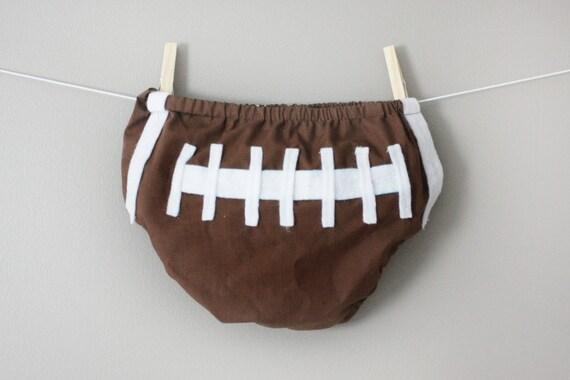 Football- Diaper Cover