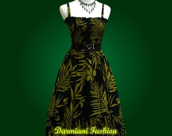 Floral 50s Dress - Summer Style