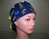West Virginia ponytail scrub cap