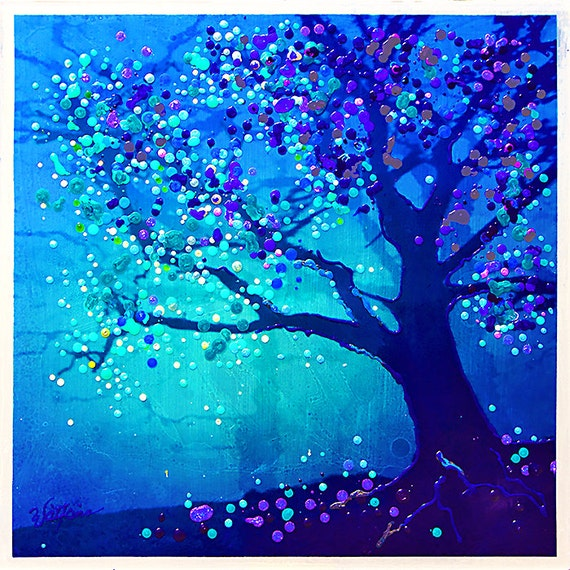 The Firefly Tree - Eternal Life Cycle - SOLD
