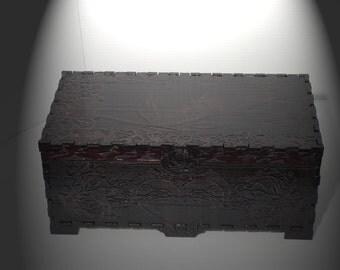 Lord Mock's Rose Jewelry  Box