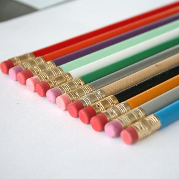 RUSH ORDER 100 custom pencils for T