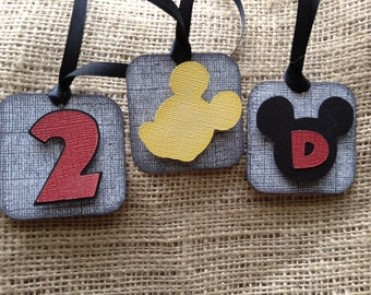 Vintage Mickey Mouse Tags