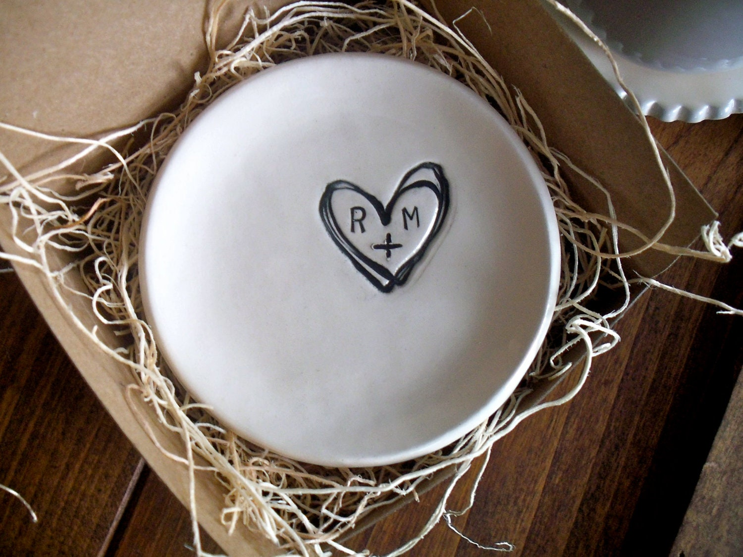 wedding ring dish ring holder engagement custom by With wedding ring dish