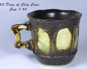 RESERVE FOR SHERI - Frank Lloyd Wright Cup -  Day 66 of 365 Days of Clay Cups