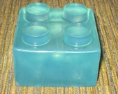 Ginormus Lego Soap Set Giant Minifigure and Brick Small Bricks and Regular Minifigures Kids Christmas Gift Set