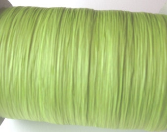 100 Yards of PAPER Jungle Green Raffia