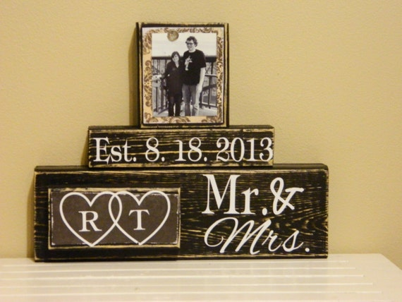 Wedding Gift, Wedding gift ideas, Wedding Present, Custom Sign, Bridal ...