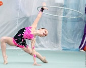 Leotard #56: Rhythmic Gymnastics Leotard, Ice Figure Skating Dress, Acrobatic Gymnastics Costume, Jumpsuit or Dance Dress