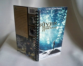 A River Runs Through It VHS Box Notebook